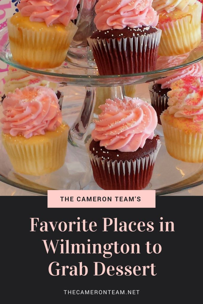 The Cameron Team's Favorite Places in Wilmington to Grab Dessert