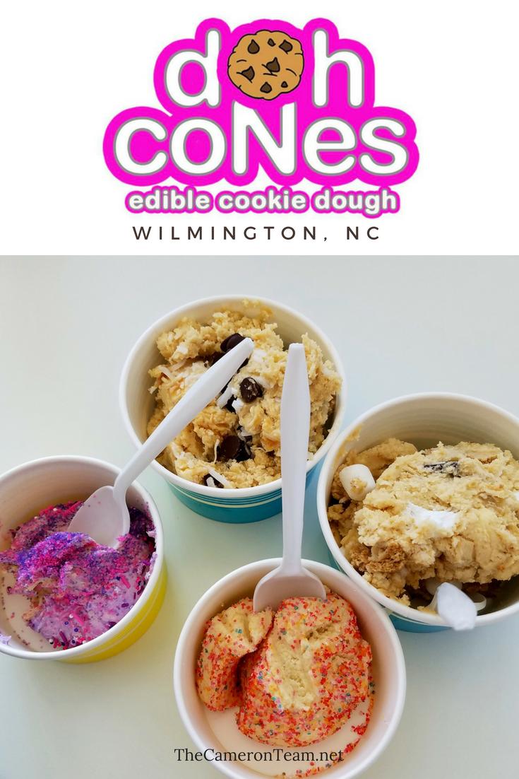 Doh Cones Edible Cookie Dough in Wilmington NC
