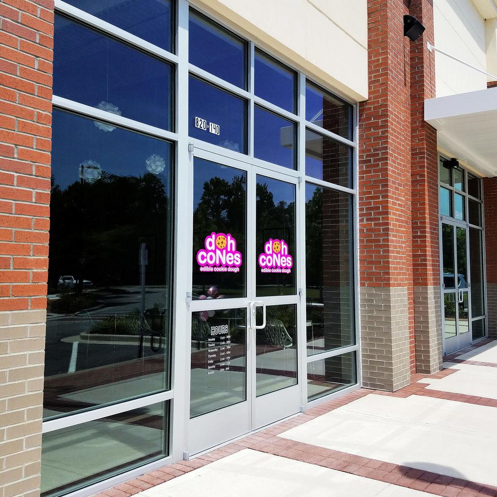 Doh Cones Edible Cookie Dough - Wilmington NC - Exterior