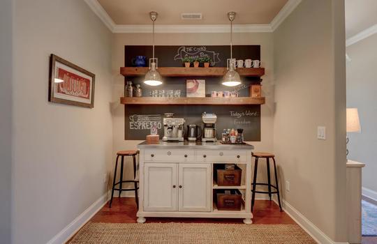 Breakfast Area/Coffee Bar