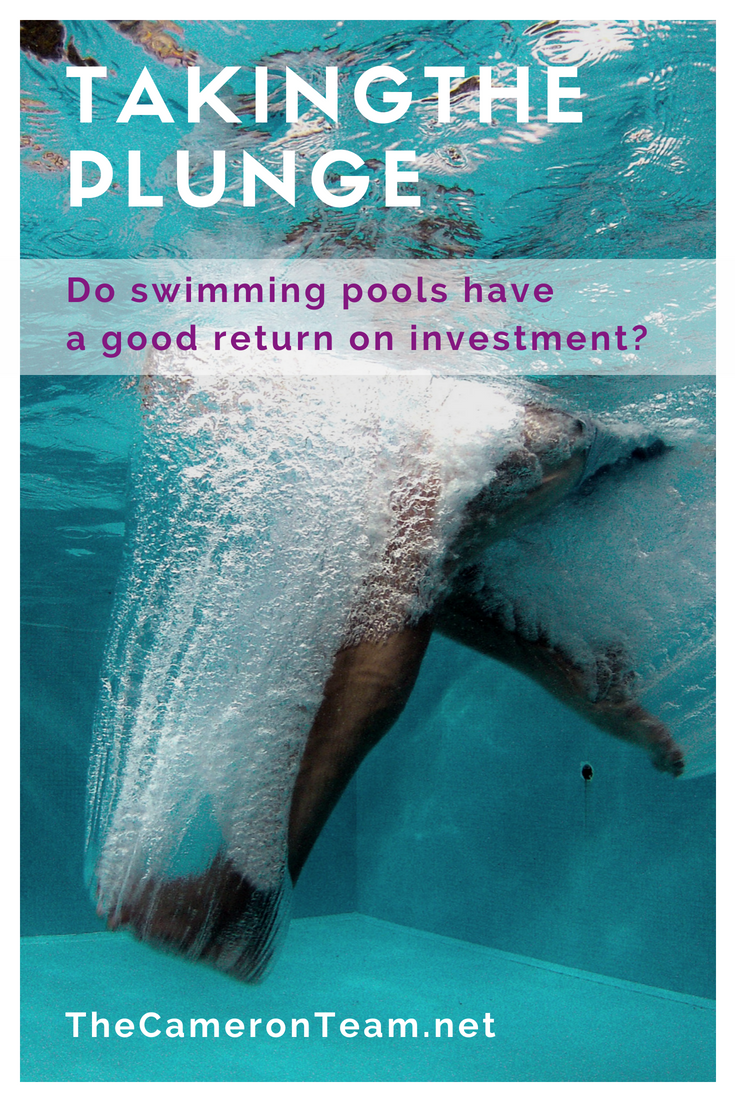Does a Swimming Pool Have a Good Return on Investment - ROI