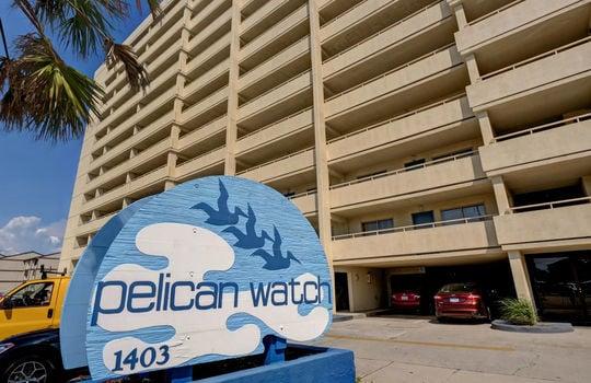 Pelican Watch - Entrance Sign