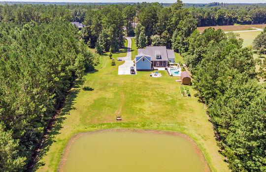 Pond Aerial
