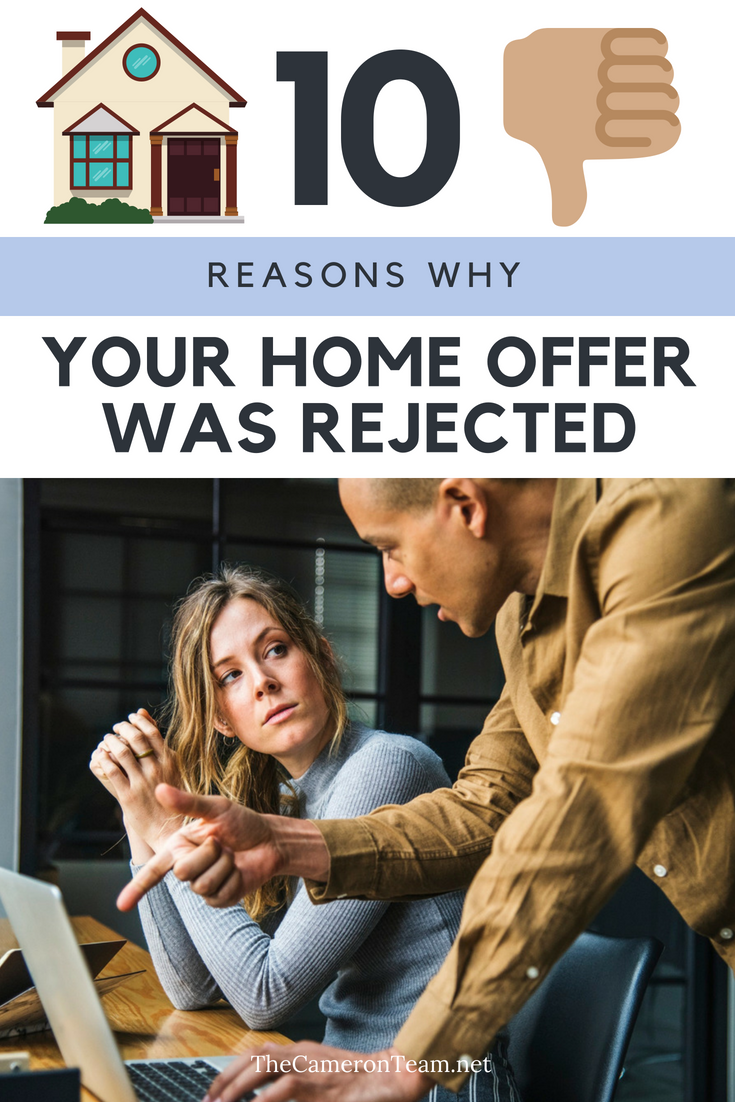 Why Was My Offer to Purchase a Home Rejected