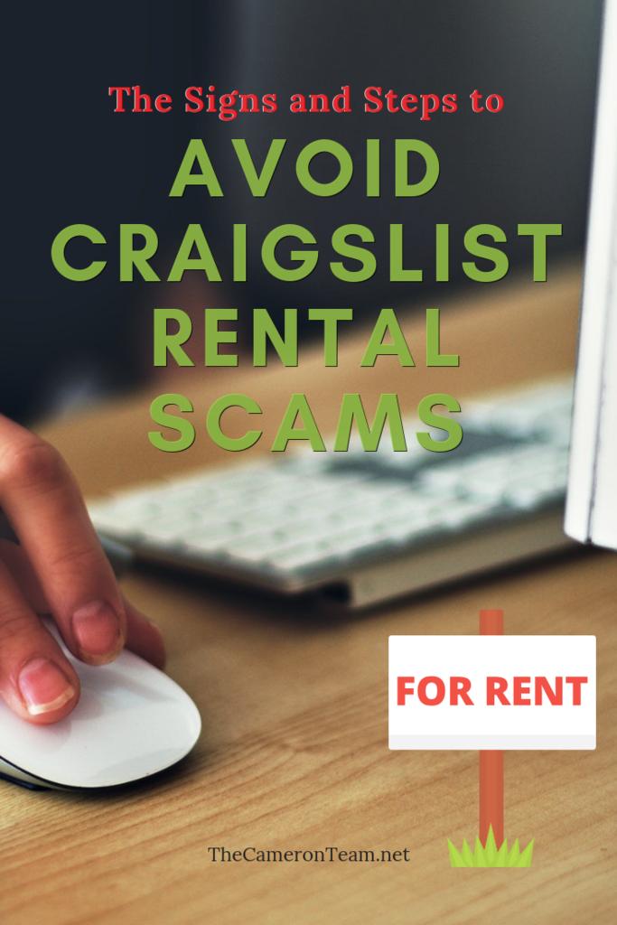 Avoid Craigslist Rental Scams