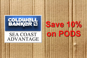 Save 10 percent on PODS with Coldwell Banker