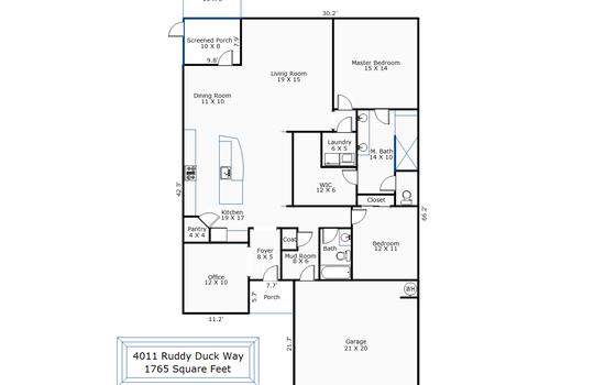 9814 – 4011 Ruddy Duck Way