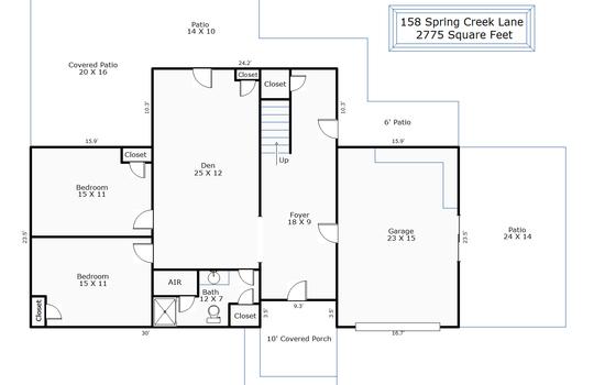 9877 – 158 Spring Creek Lane-1st Floor
