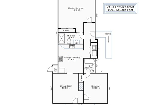 9400 – 2153 Fowler Street