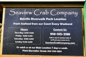 Seaview Crab Company Hours of Operation