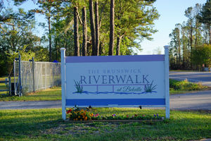 Brunswick Riverwalk at Belville Sign