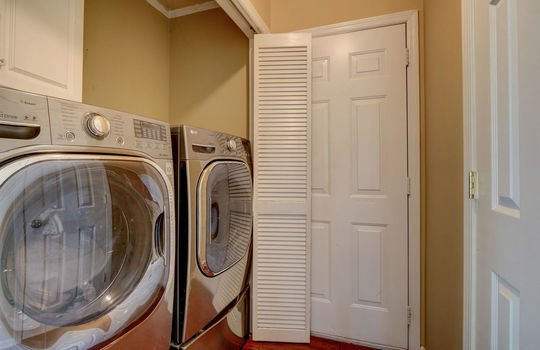 Laundry Closet & Garage Access