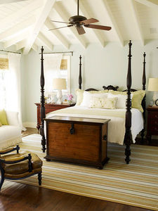 Traditional Home - Tropical Four-Poster Bed