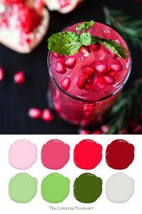Berry Lemonade Paint Color Palette - The Cameron Team