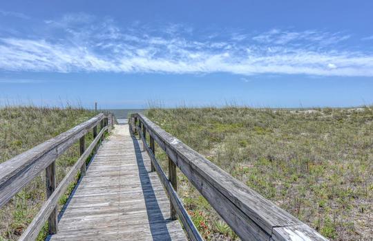 Public Beach Access at Carolina Beach