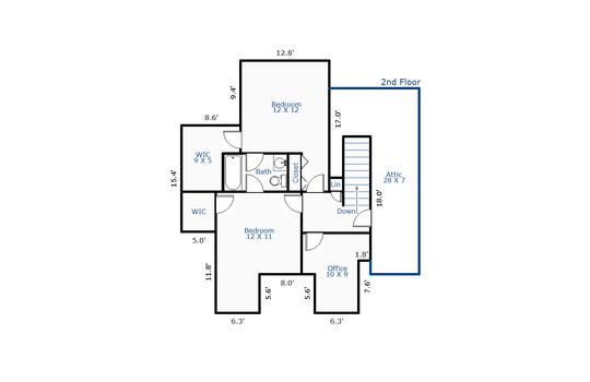 11045 – 8804 Fazio Drive-2nd Floor