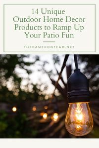 14 Unique Outdoor Home Decor Products to Ramp Up Your Patio Fun