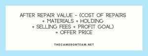 After Repair Value (ARV)