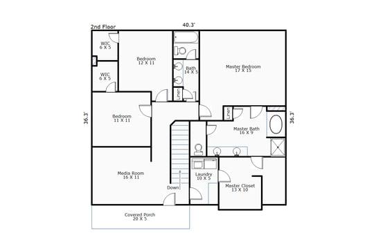 11080 – 117 Bethea Street-2nd Floor