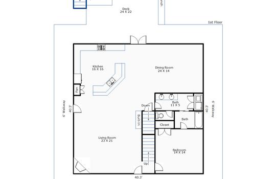 11082 – 4 Sailview Drive-1st Floor