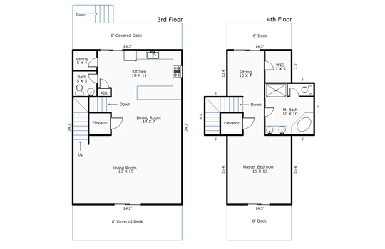 10812 – 1603 N Shore Drive-2nd Floor