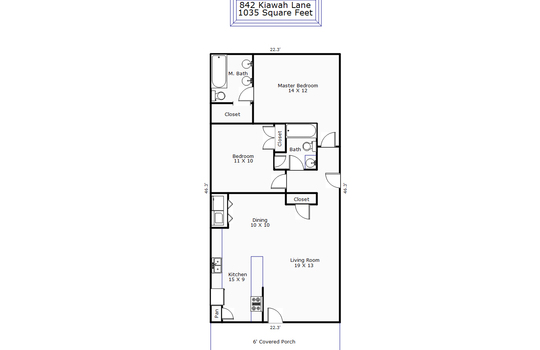 11112 – 842 Kiawah Lane