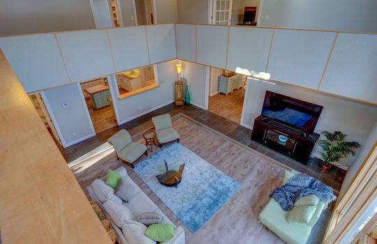 Living Room from Second Floor
