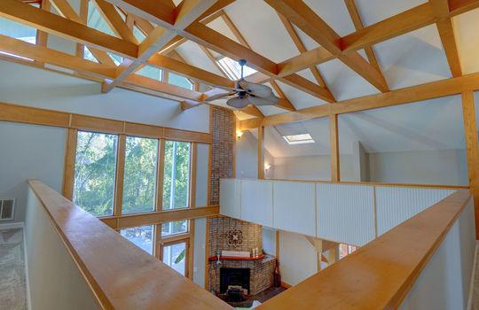 Second Floor Ceiling