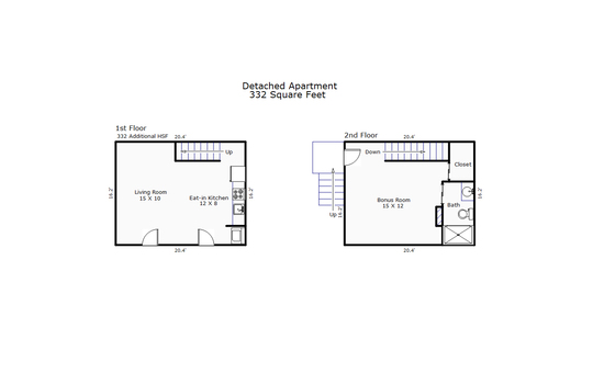 11629 – 406 S 3rd Street-Detached Apartment