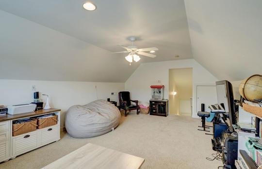 Finished Room Over the Garage