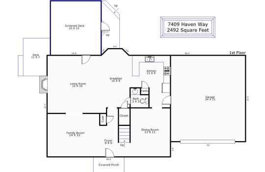 11540 – 7409 Haven Way-1st Floor