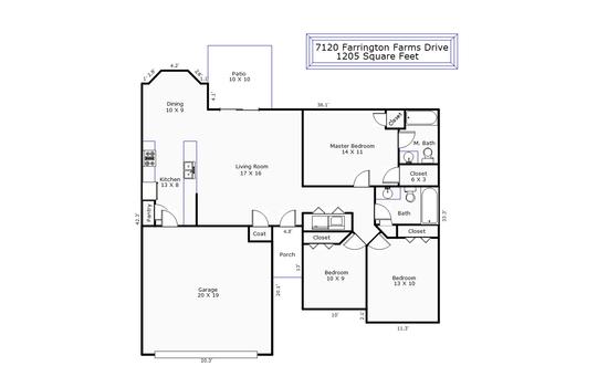 11698 – 7120 Farrington Farms Drive
