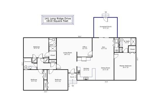 11745 – 141 Long Ridge Drive