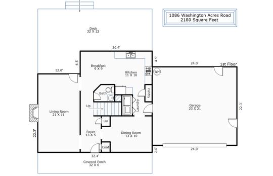 11366 – 1086 Washington Acres Road-1st Floor