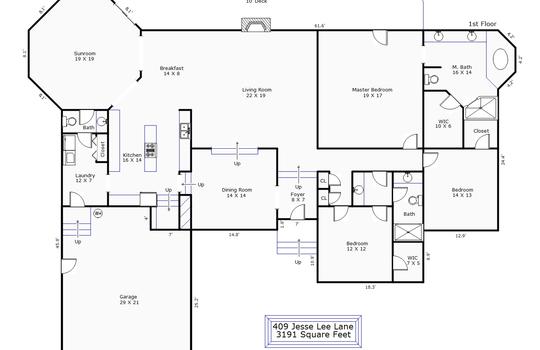 12085 – 409 Jesse Lee Lane-1st Floor