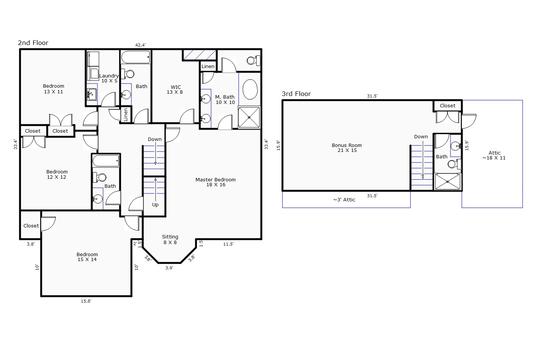 12097 – 6707 Creek Ridge Road-2nd and 3rd Floor