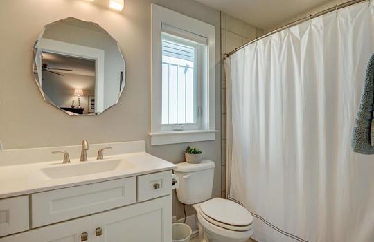 Ground Level Full Bathroom