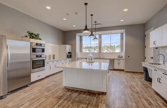 Del Webb at RiverLights Clubhouse Kitchen