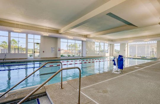 Del Webb at RiverLights Clubhouse Indoor Swimming Pool