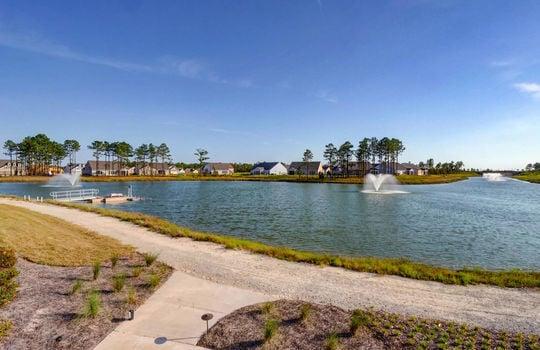 Del Webb at RiverLights Lake with Kayak Launch
