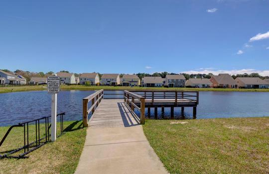 Community Lake and Dock