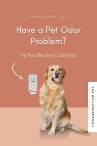 Have a Pet Odor Problem? Try This Electronic Sanitizer