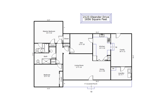 13453 – 2123 Oleander Drive