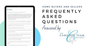 Frequently Asked Questions - The Cameron Team