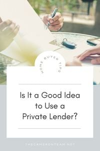 Is It a Good Idea to Use a Private Lender?