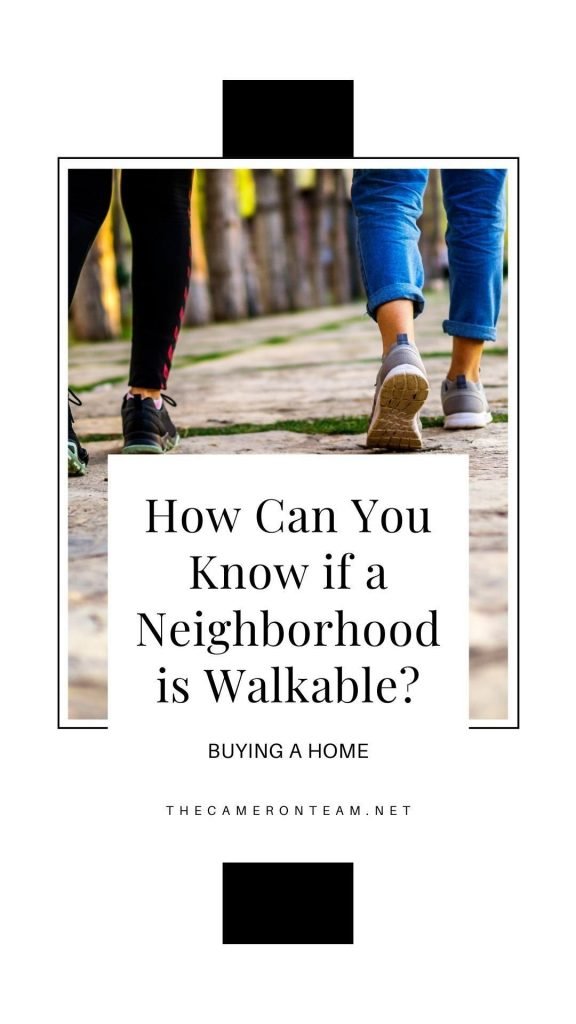 How Can You Know if a Neighborhood is Walkable