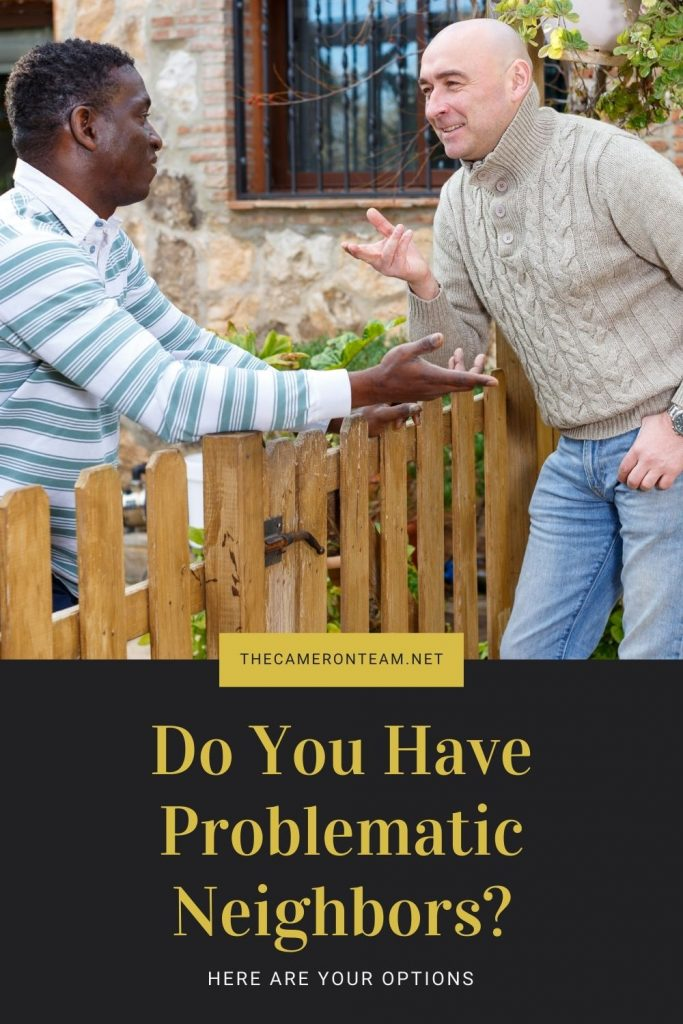 Do You Have Problematic Neighbors?