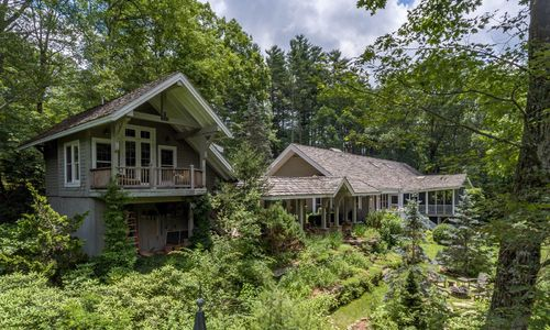 lakefront Highlands NC home for sale