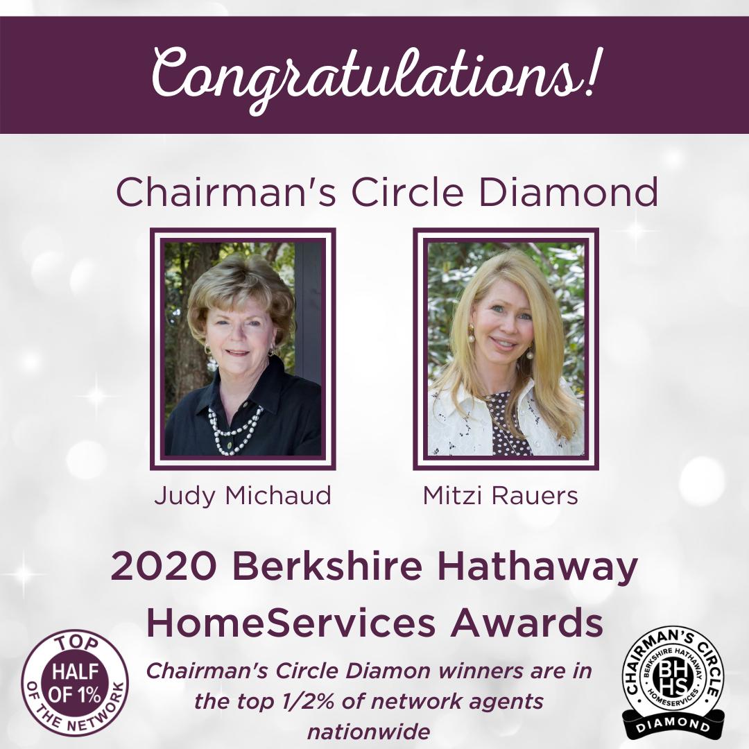 BHHS Chairman's Circle Diamond Award for 2020