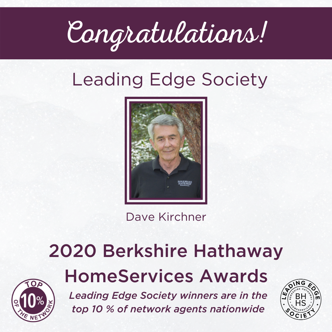 BHHS Leading Edge Society Award for 2020